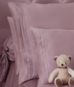 Постельное бельё Deluxe. Постельное белье двуспальное Складки (200х200) Розовый от Catherine Denoual Maison