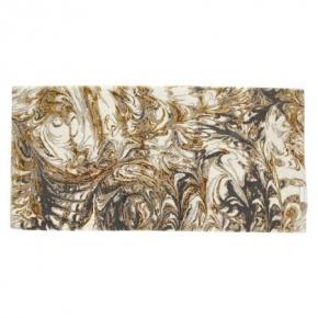 . Коврик для ванной Казанова Белый-серый-коричневый Abyss & Habidecor