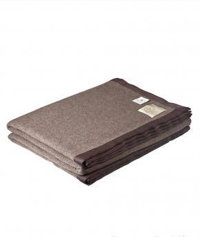 . Плед Tibel коричневый 160х220см. от Co.Bi