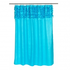 . Шторка для ванной Jasmine Cyan Blue FSCL-JAS/88