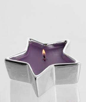 Ароматические свечи Парфюм для дома Диффузоры. Серебряная звезда Инжир и Груша от Stone Glow  Арт.3554