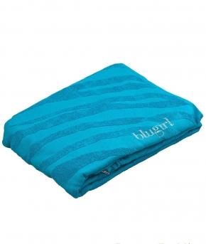 . Полотенце пляжное банное maxi Cosmopolitan (100×180) Бирюзовый 78772 от Blugirl