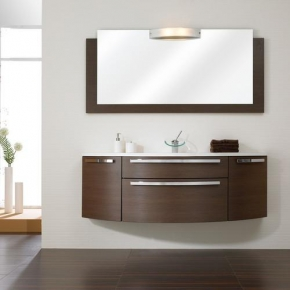 Мебель для ванной комнаты. Комплект мебели Pelipal Roulette Декор-шоколад, 1680 мм