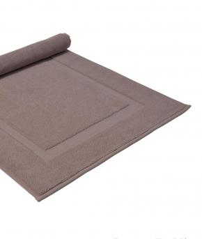 Коврики для ванной комнаты. Полотенце для ног (коврик) BRIGHTON (PUF) 50х80 лиловый от Casual Avenue