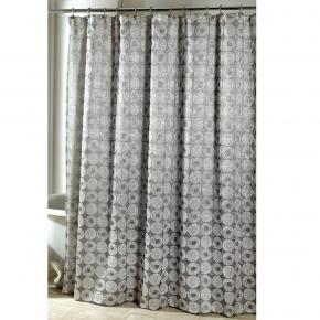 Шторки для душа и ванны текстильные. Шторка для ванной Galaxy Sillver 11933