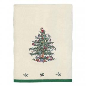 Полотенца хлопковые. Полотенце банное Spode Christmas Tree 01523E1IVR
