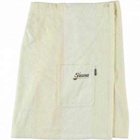 Халаты Одежда для бани и сауны.         Халат-юбка для сауны 9065. Песочный