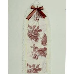 Держатели для туалетной бумаги текстильные настенные. Держатель для туалетной бумаги АМЕЛИ