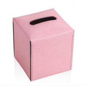 Салфетницы настольные настенные. Салфетница квадратная GioBagnara куб розовая