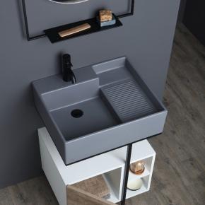Итальянские постирочные раковины Мебель и оборудование для постирочной комнаты. Colavene Nobu универсальная постирочная раковина глубокая для ванной