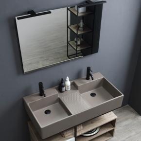 Итальянские постирочные раковины Мебель и оборудование для постирочной комнаты. Colavene Nobu универсальная двойная постирочная раковина глубокая для ванной