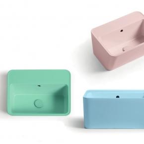 . Colavene Wynn универсальная постирочная раковина глубокая для ванной Verde, Azzurro, Rosa