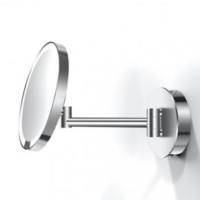. Decor Walther Just Look хром настенное косметическое зеркало с подсветкой LED и увеличением х5