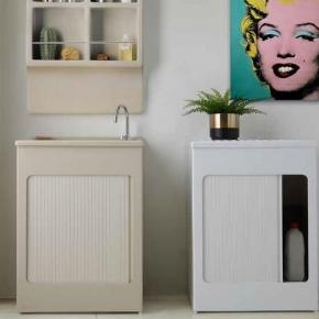 Итальянские постирочные раковины Мебель и оборудование для постирочной комнаты. Colavene Lavacril Blanco Outdoor постирочная раковина глубокая универсальная
