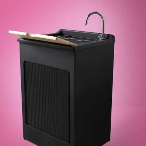 Итальянские постирочные раковины Мебель и оборудование для постирочной комнаты. Colavene Lavacril Black Outdoor постирочная раковина чёрная глубокая универсальная