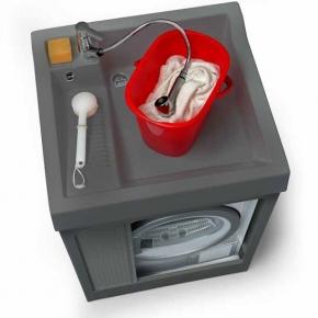OUTDOOR. Colavene Lavacril Grigio Outdoor постирочная раковина тумба для стиральной машины