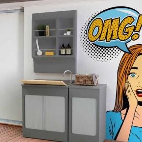 Итальянские постирочные раковины Мебель и оборудование для постирочной комнаты. Colavene Lavacril Grigio Outdoor постирочная раковина глубокая универсальная