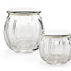 . SAMANTHA VANITY JAR аксессуары для ванной комнаты Ralph Lauren косметическая ёмкость с крышкой