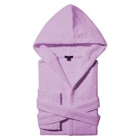 Халаты Одежда для бани и сауны Deluxe. Versace home collection Medusa Classic халат махровый сиреневый