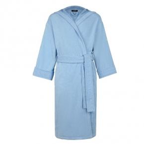 Халаты Одежда для бани и сауны Deluxe. Versace home collection Medusa Classic халат махровый голубой