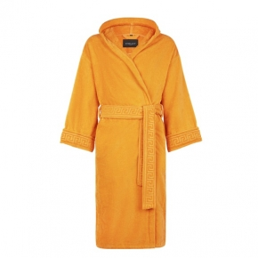 Халаты Одежда для бани и сауны Deluxe. Versace home collection Medusa Classic халат махровый золотой