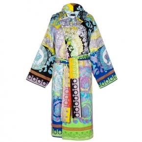 Халаты Одежда для бани и сауны Deluxe. Versace home collection халат махровый многоцветный
