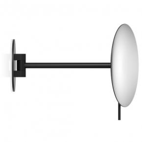 . Decor Walther чёрное матовое и хром настенное косметическое зеркало х5