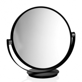 . Decor Walther Vanity чёрное настольное косметическое зеркало 1х1 двухстороннее