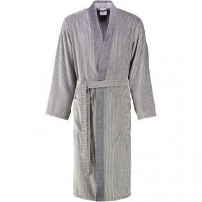 Халаты Одежда для бани и сауны Deluxe. Халат Cawo серый хлопковый мужской