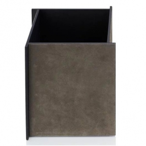 Аксессуары для кабинета Deluxe. Malaparte корзина для бумаг квадратная by GioBagnara Mud