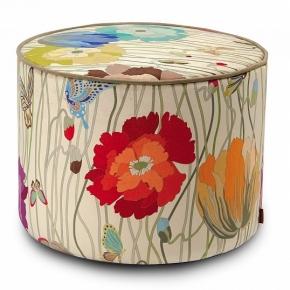 Банкетки Пуфы Скамьи. Пуф Vancouver Missoni с цветочным декором