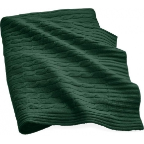 Пледы Покрывала Deluxe. CLASSIC GREEN плед кашемировый Ralph Lauren
