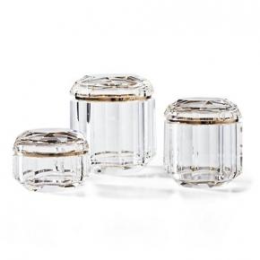 . LEIGH JAR аксессуары для ванной комнаты Ralph Lauren косметическая ёмкость