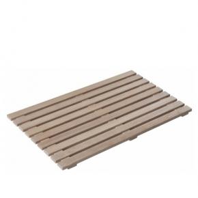 Деревянные коврики и решётки для душа и ванной комнаты. Mink решётка деревянная дуб