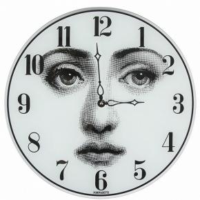 Часы. Fornasetti Wall clock Viso часы настенные круглые