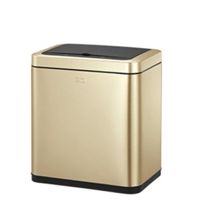 Сенсорные вёдра и баки для мусора. EKO сенсорное ведро для мусора Золотая шампань 20 литров