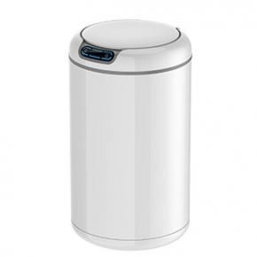 Сенсорные вёдра и баки для мусора. EKO сенсорное ведро для мусора 9 и 12 литров круглое Белое R2D2