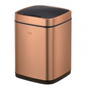 Сенсорные вёдра и баки для мусора. EKO сенсорное ведро для мусора 12 литров Бронза