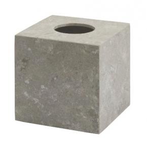 Салфетницы настольные настенные. Салфетница из натурального камня настольная серо-бежевая Conor куб
