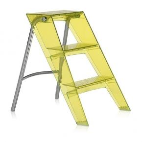 Стремянки Лестницы. Upper Kartell стремянка складная жёлтая