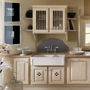 Раковины для кухни. Kerasan Hannah Oxfordshire Раковина кухонная керамическая двойная 100,3 см белая