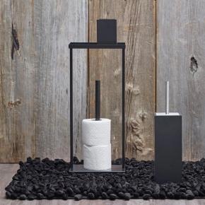 . Aquanova ROCCA black коврик для ванной Чёрный 120х70