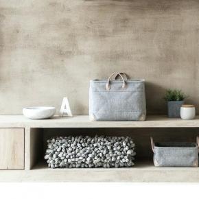 Aquanova ROCCA silver-grey коврик для ванной Серебро 100х60