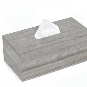 . Wood Collection Sterling Grey салфетница деревянная прямоугольная эвкалипт