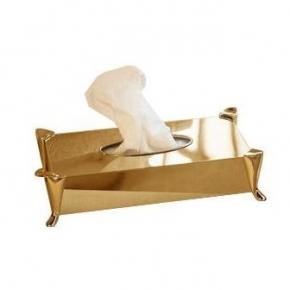 Салфетницы настольные настенные. Windsor PomdOr настольные аксессуары для ванной салфетница Золотая