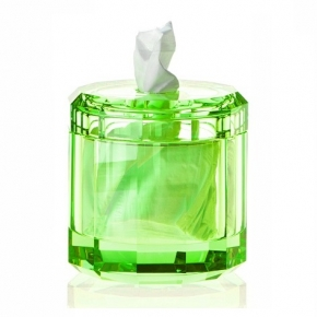 Салфетницы настольные настенные. Kristall настольные аксессуары для ванной хрустальные зелёная круглая салфетница Decor Walther