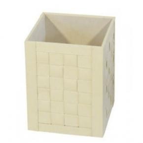 Офисные вёдра Корзины для бумаг Урны. Емкость для мусора 2903CR ведро квадратное плетёное