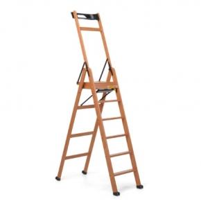 . laScala6 Foppapedretti лестница складная стремянка Noce