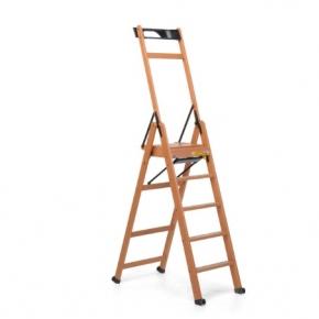 . laScala5 Foppapedretti лестница складная стремянка Noce