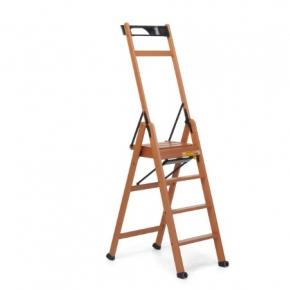 . laScala4 Foppapedretti лестница складная стремянка Noce